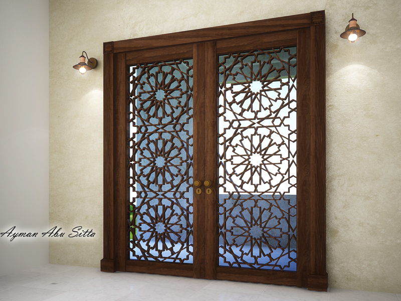 Downloads Library 3d Models Doors And Windows Islamic 623