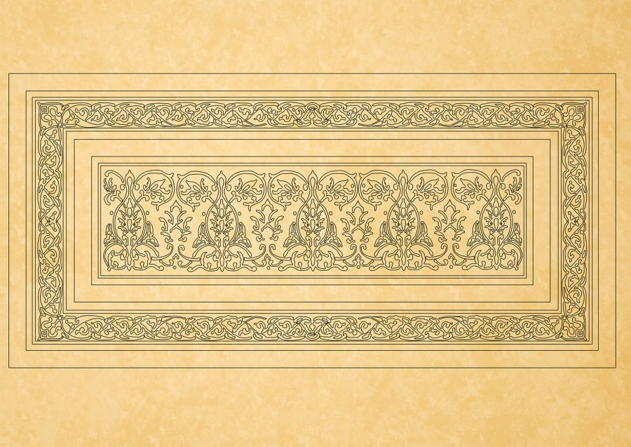 Downloads Library-Cad files-Decorative-Islamic--526