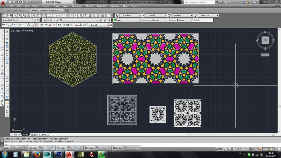 Downloads Library-Cad files-Decorative-Islamic--743