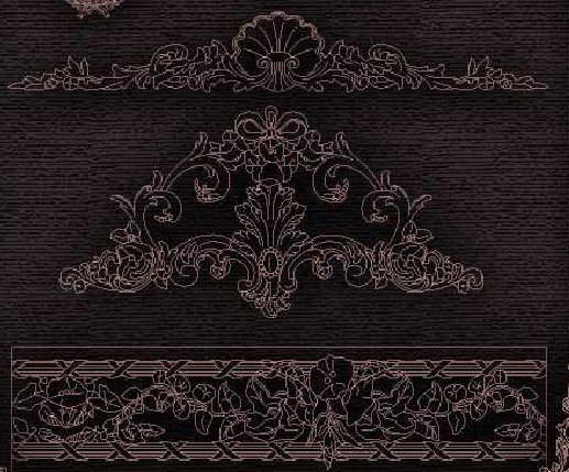 Downloads Library-Cad files-Decorative-Classic--714 | Rehla me