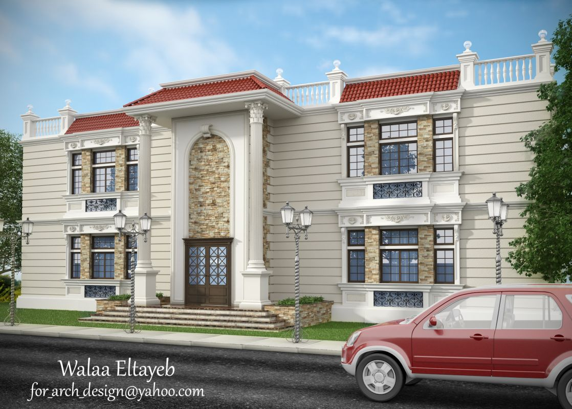 exterior design classic villas 764 by