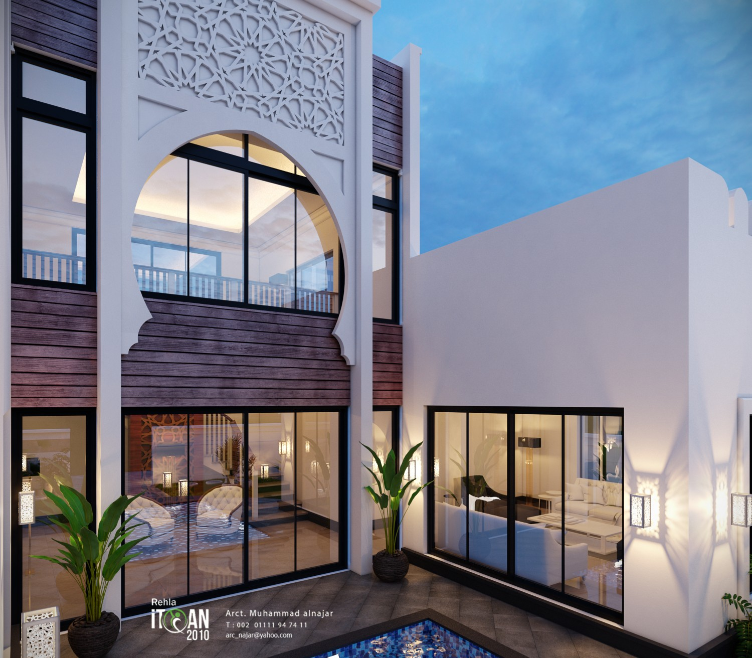 Small Villa With Islamic
