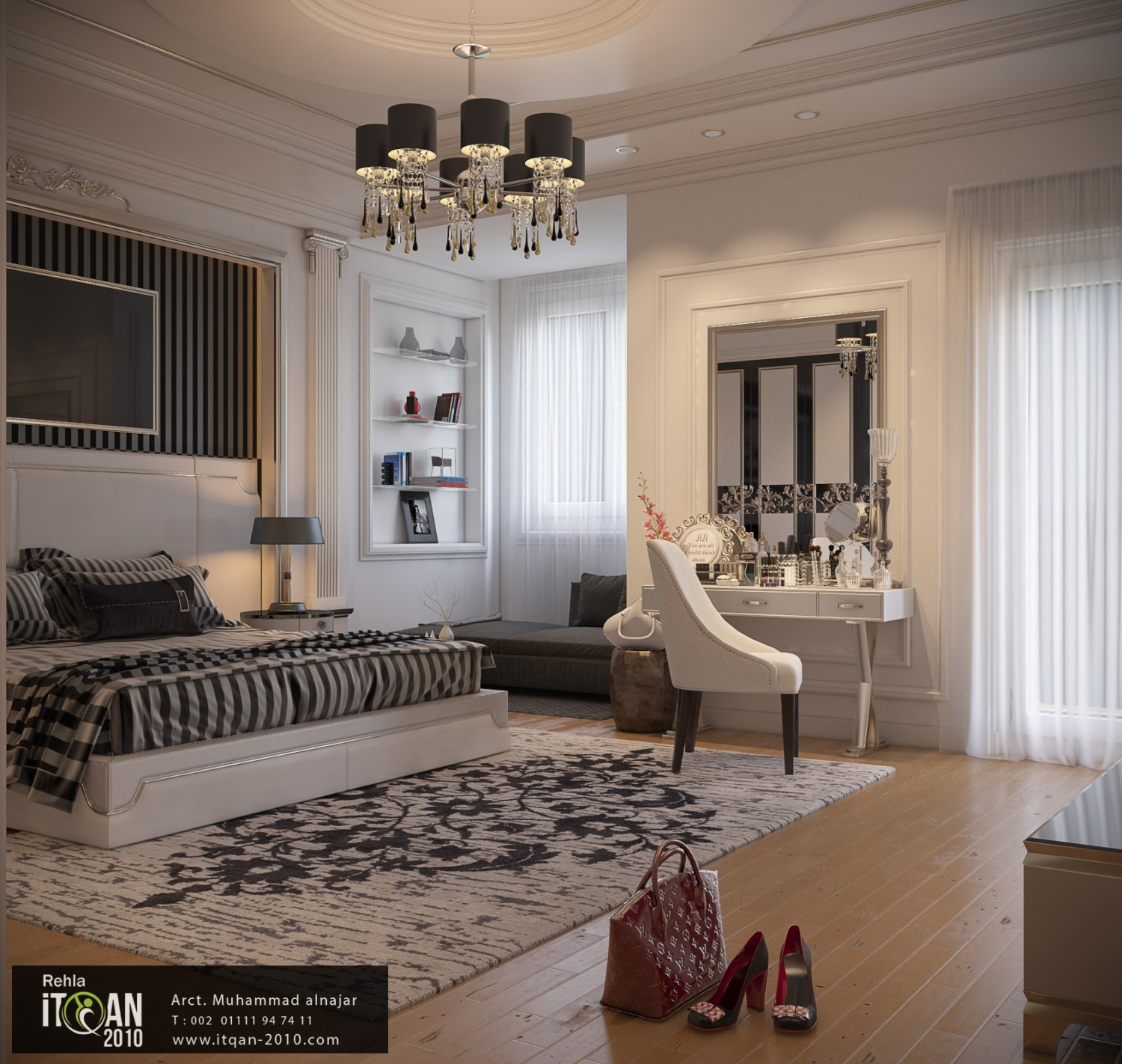 Master Bed Room Design With Classic Touch Muhammad