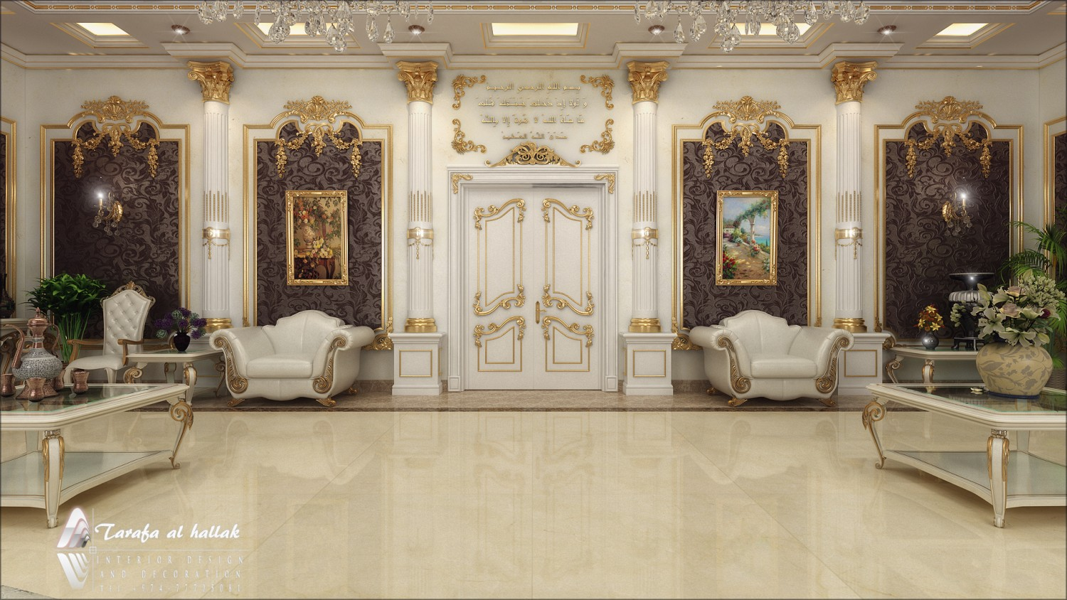 Classic vip lounge for An interior decorator