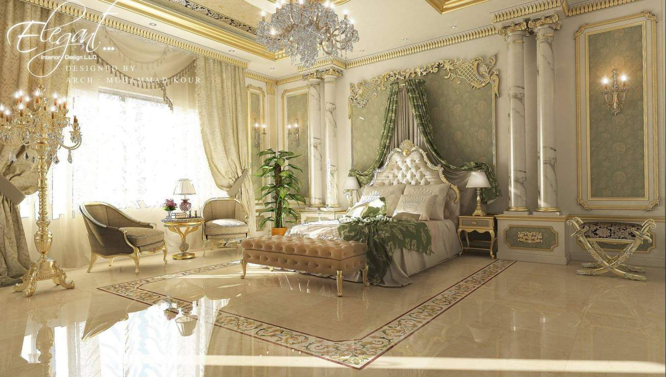 Home Design Classic Ideas: Interior Design-Classic-Bed Room-100-by: Muhammad Hussain