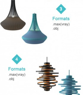 Downloads Library-3D models-lighting-Modern--923