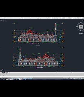 Downloads Library-Cad files-Full exterior projects-Islamic--670