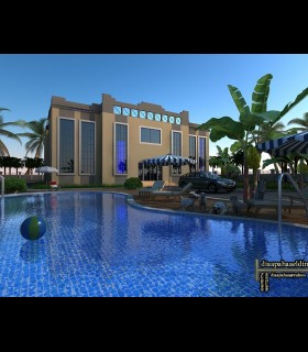 Downloads Library-Cad files-Full exterior projects-Modern--728