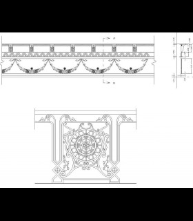 Downloads Library-Cad files-Decorative-Classic--730