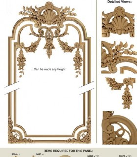 Downloads Library-photoshop library-Decorative-Classic-Decorative plaster-717