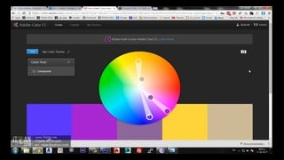 using color scheme websites