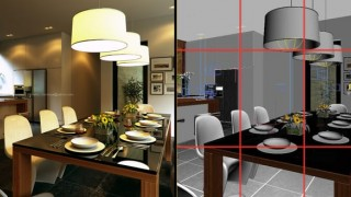 Composition rules and 3dsmax image helper script