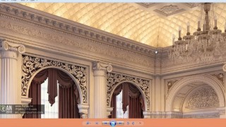 005 modeling cornice on curve