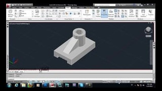 autocad visual style and paper space