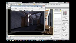 terrace night 3ds max vray