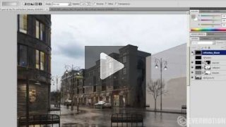 Postproduction of 3d scene in Adobe Photoshop - Tip of the Week