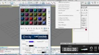 how to make vray materials is the default in 3ds max